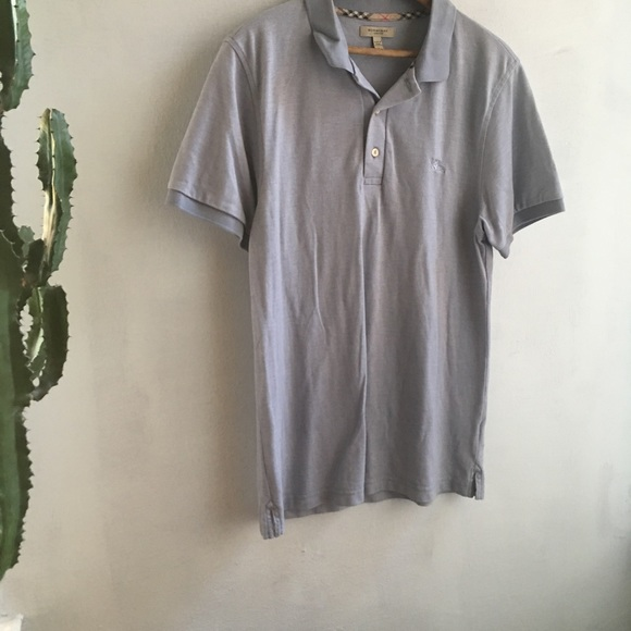 Burberry Shirts   Mens Polo Tee 180115002   Poshmark 64441eb3b04